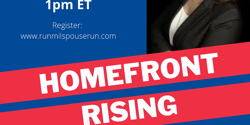 Homefront Rising Chat with Rep. Erin Paré