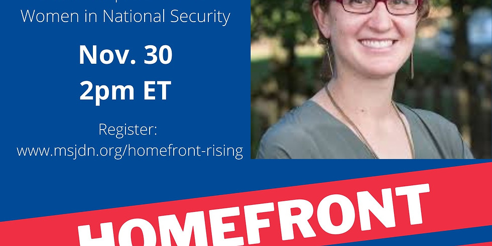 Homefront Rising Chat with Lindsay Rodman