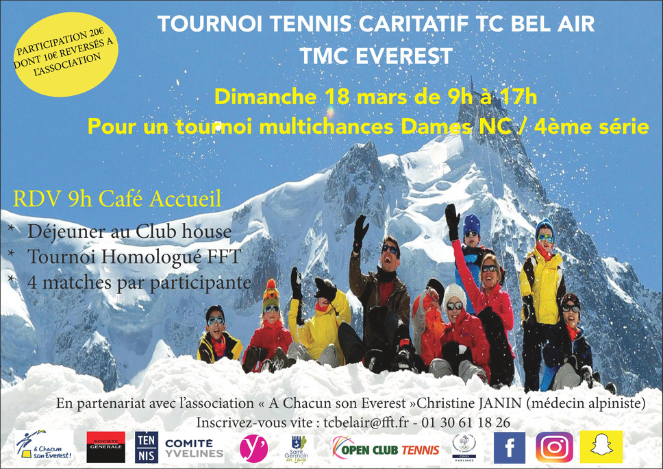 TMC Everest le dimanche 18 mars