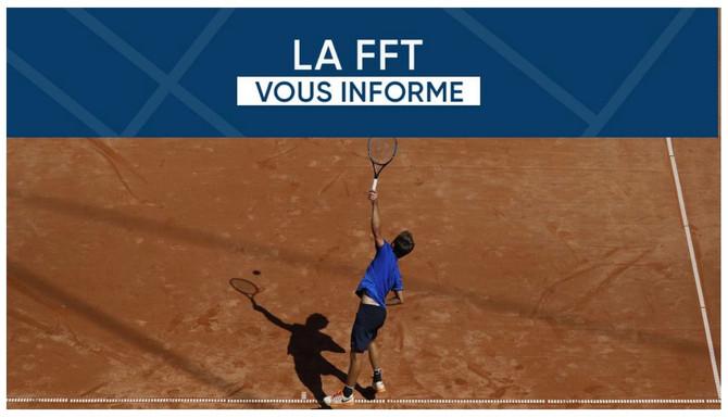 Nouveau classement FFT à partir de mars 2021