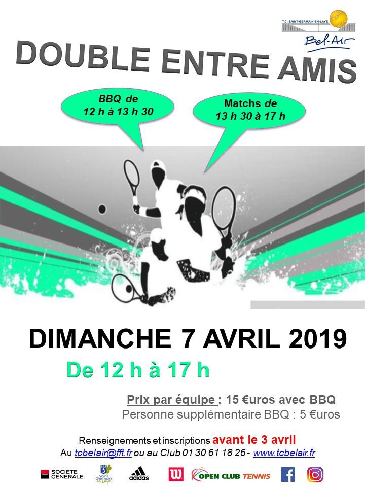 Double BBQ le dimanche 7 avril