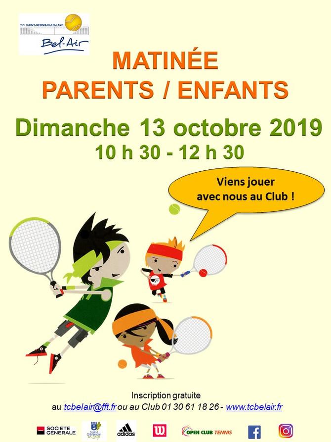 Animation Parents/Enfant le dimanche 13 octobre 2019