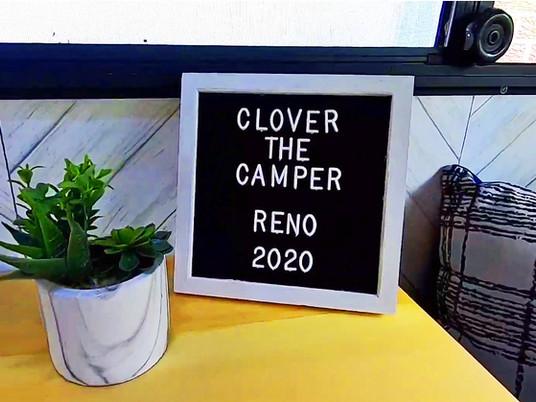 """1987 Camper Renovation - """"Clover"""" The Camper"""