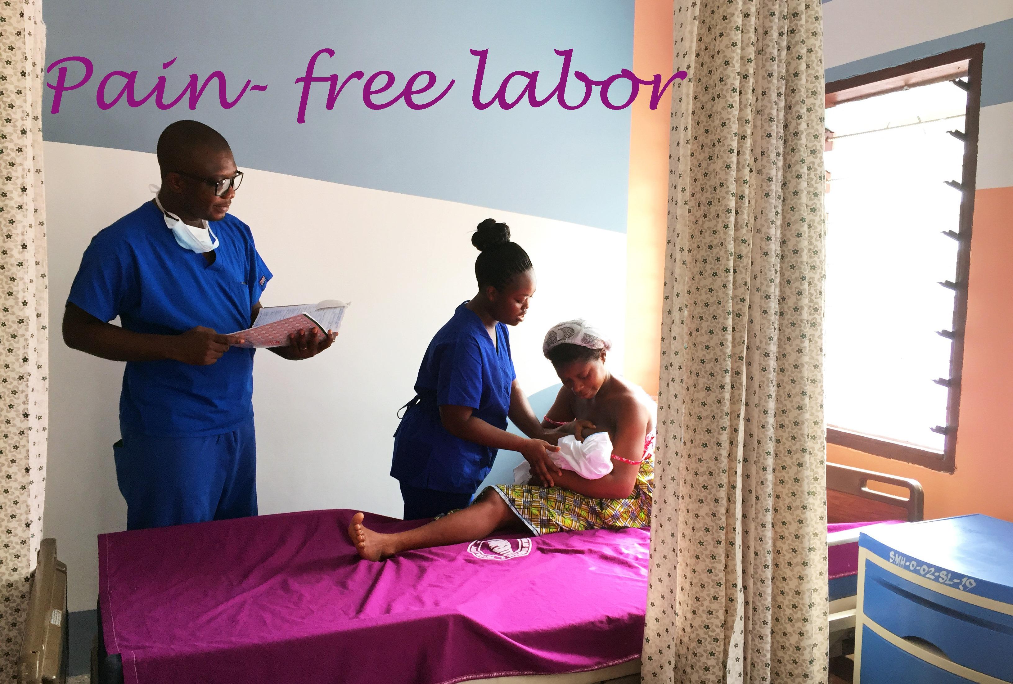 pain free labor