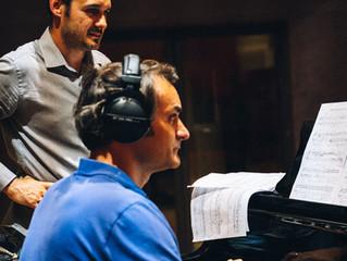 Enregistrement de la musique du film Le Dernier Voyage