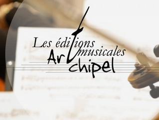 Maquettes pour le compositeur Benoît Menut, grand prix SACEM Musique Symphonique 2016