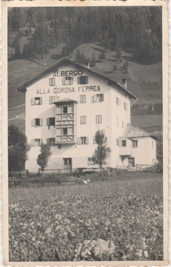 anni 40 primo albergo sappada