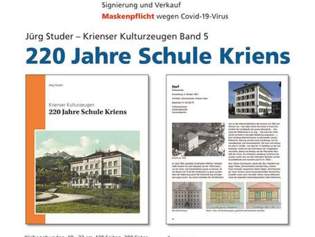 Buch-Vernissage 20.11.20