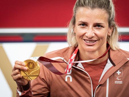 Kriens mit grossem Empfang für Olympia-Siegerin Manuela Schär