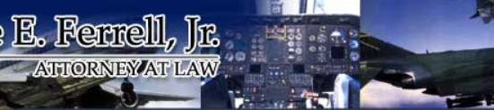 Sponsor Highlight:  Wayne E. Ferrell,Jr. Attorney at Law