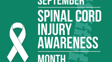 September is National Spinal Cord Awareness Month