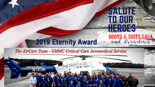 "2019 ""Salute to Our Heroes"" - Eternity Award Recipient"