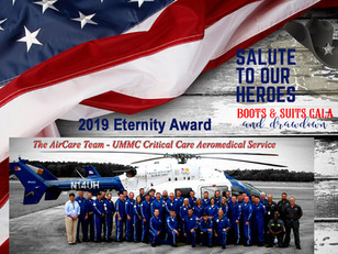 """2019 """"Salute to Our Heroes"""" - Eternity Award Recipient"""