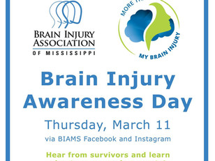 """Brain Injury Awareness Day"" Event - Tomorrow!"