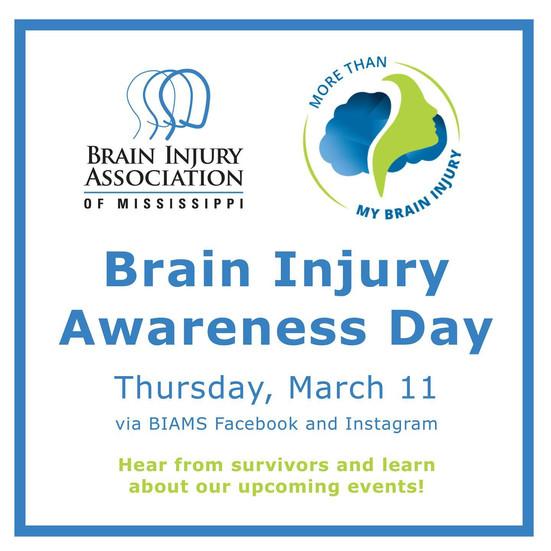 Mark your calendars for Brain Injury Awareness Day - survivor stories!