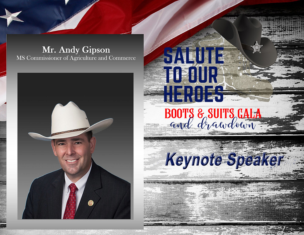 Mr. Andy Gipson - MS Commissioner of Agriculture and Commerce