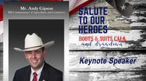 "2019 ""Salute to Our Heroes"" Keynote Speaker – Commissioner Andy Gipson"