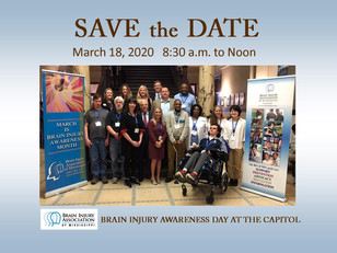 Brain Injury Awareness Day at the Capitol
