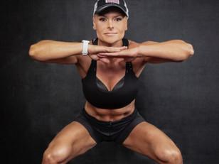 "Personal Trainer, Tamara Williams - Conducting ""Dash 'N' Splash"" Race Warm Up!"