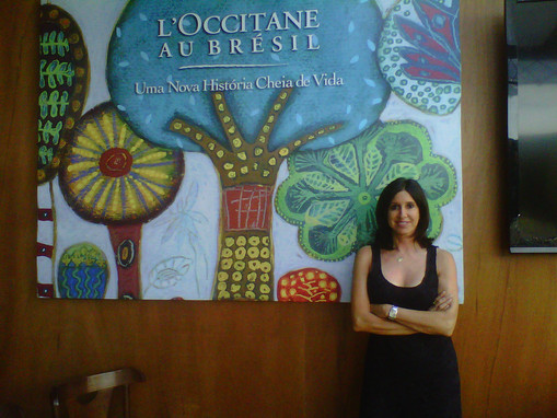 Lançamento para a imprensa da L'Occitane au Brésil SP/2013  Conferénce de presse L'Occitane Au Brésil