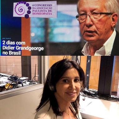 6º Congresso da Associação  Paulista de Homeopatia SP/2019  Traduction simultanée Congrès d'Homéopathie