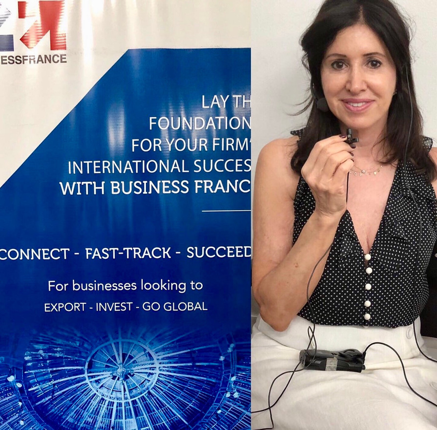 Com o meu equipamento portátil Business France SP/2019  Avec mon matériel portable Business France