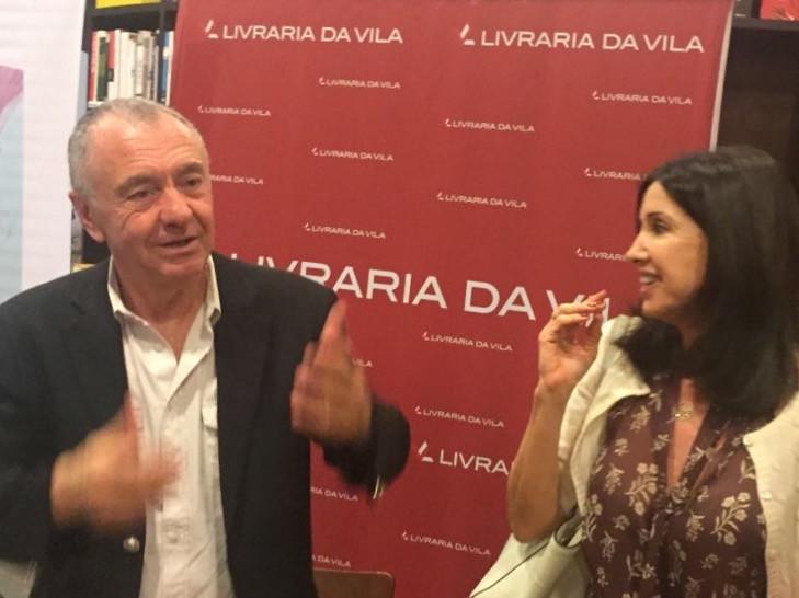 """Lançamento livro """"Da Leveza"""" Autor Gilles Lipovetsky   Lancement du livre """"De la légèreté"""" Auteur Gilles Lipovetsky"""