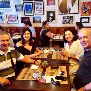 Equipe de intérpretes de francês: Inesita Machado, Lucien Beraha e Pedro Branco  Équipe d'interprètes de français