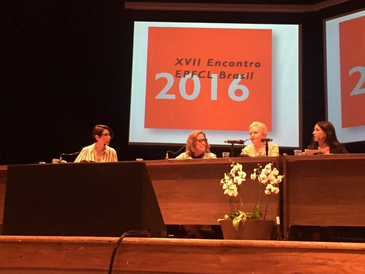 Conferência da psicanalista Colette Soler /SP/2016  Conférence de la psychanalyste Colette Soler