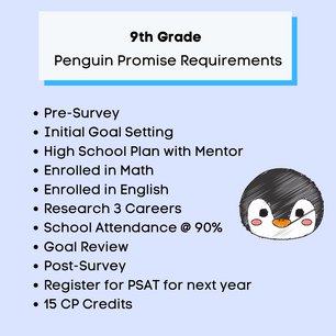 9th Grade Penguin Promise Requirements.p
