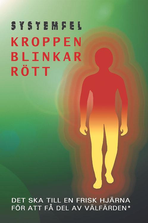 SYSTEMFEL - Kroppen blinkar rött