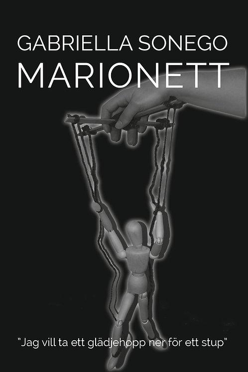 """Marionett """"Jag vill ta ett glädjehopp ner för ett stup"""""""