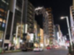 イル・ルオーゴ 銀座 店舗付近の銀座風景