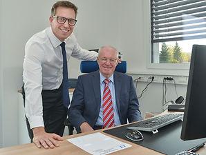Firmengründer Peter Nagl, Geschäftsführer Bastian Nagl