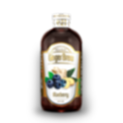 Blueberry Windmill Ginger Brew