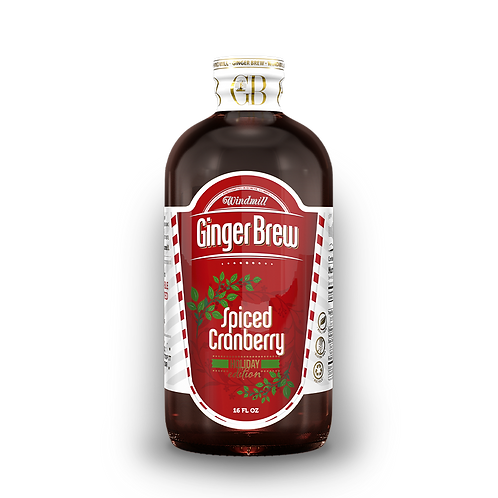 Spiced Cranberry Ginger Brew - 6 Pack