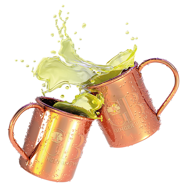 Windmill Ginger Brew Moscow Mule Mugs