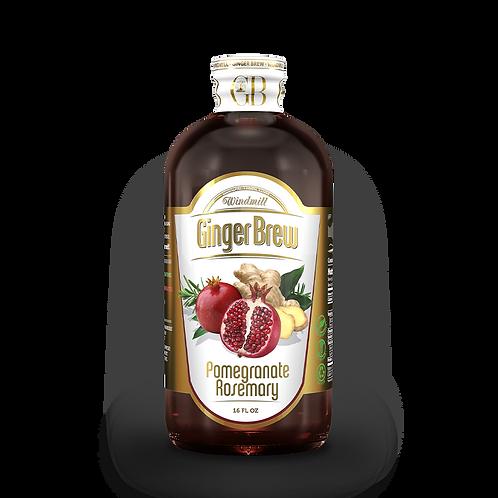 Pomegranate Rosemary Ginger Brew - 6 Pack