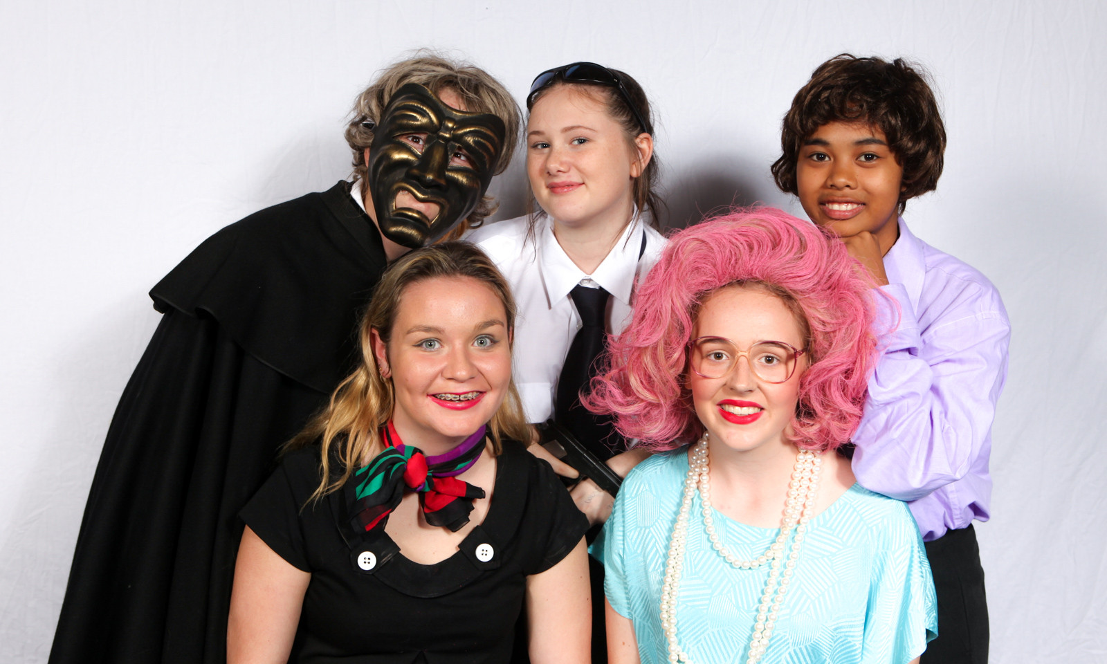One Acts Youth theatre costumes Cast-50.
