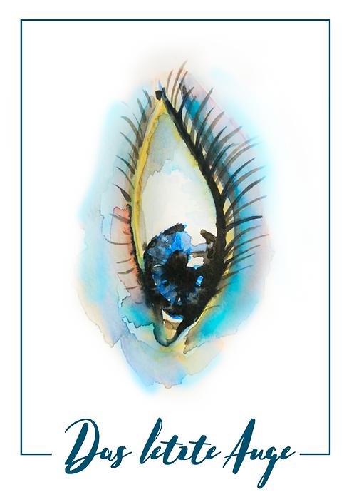 Das letzte Auge GmbH, Logo, Claudia Bartholdi, Korrektorat, Lektorat, Textwerkstatt, Korrekturlesen, Korrigieren, Lektorieren, Texten, Watercolor-Logo