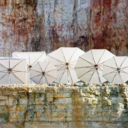 ombrelloni piazza erbe