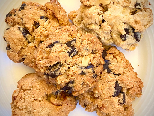 The Everything Chocolate Chip Almond Flour Cookie