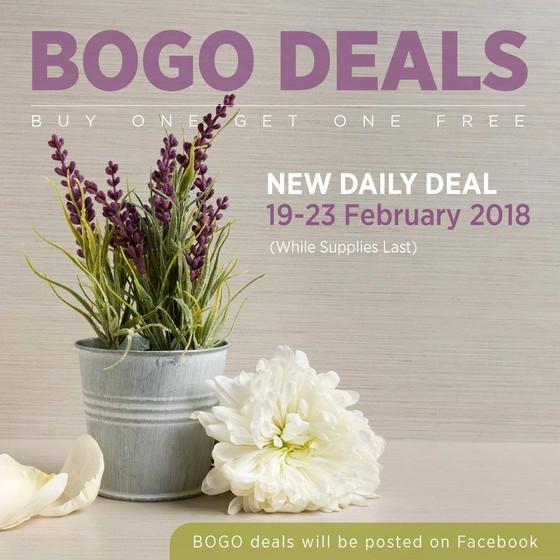 Buy One Get One free Week 19-23 February