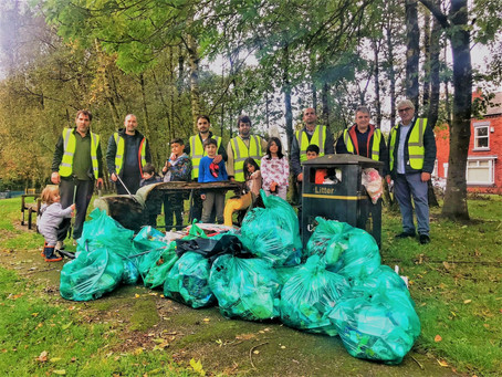 Clean Parks Movement in Bolton 🧹👏