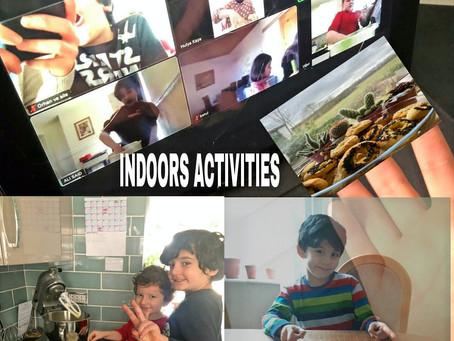 Indoor Activities During the Lockdown