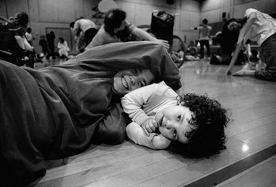 Mother & Daughter, University of Oregon, USA