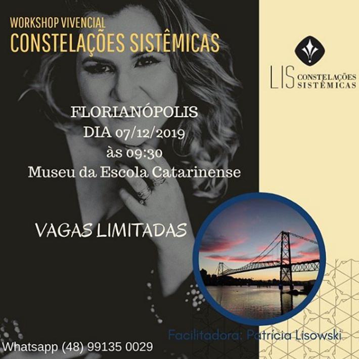 Workshop Vivencial Constelações Sistêmicas