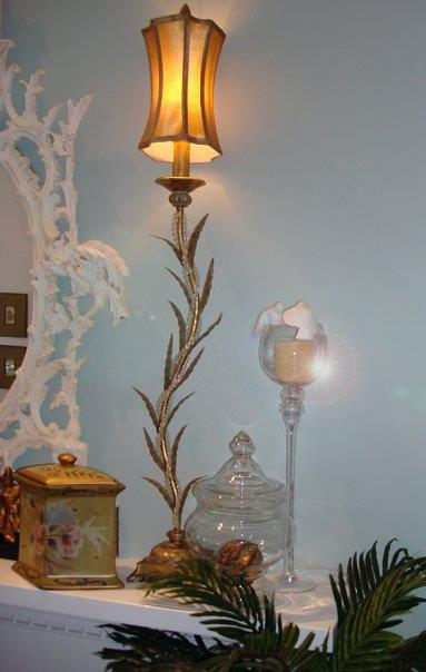Chippendale Mirror-Bedroom FIreplace