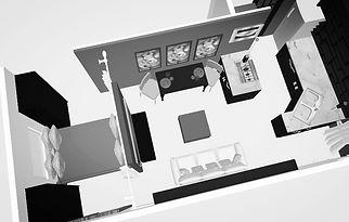 Computer Rendering Drawing Candis Noble E-Design Interior Designer