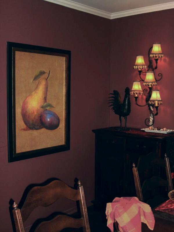 Adjacent Elegant Dining Room